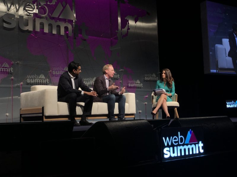 web summit brad smith microsoft stage talk